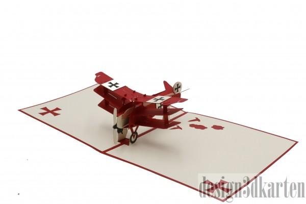 Flugzeug von design3dkarten