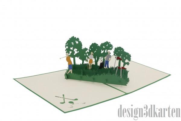 Golf von design3dkarten