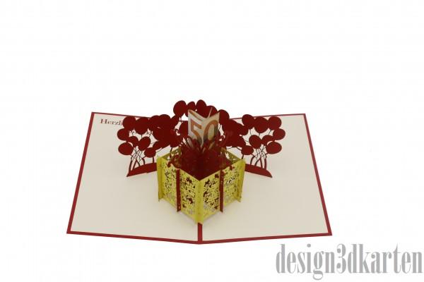 Geschenkbox von design3dkarten