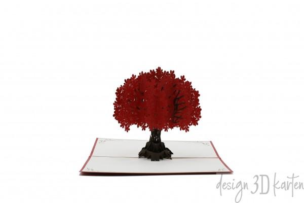 Baum von design3dkarten