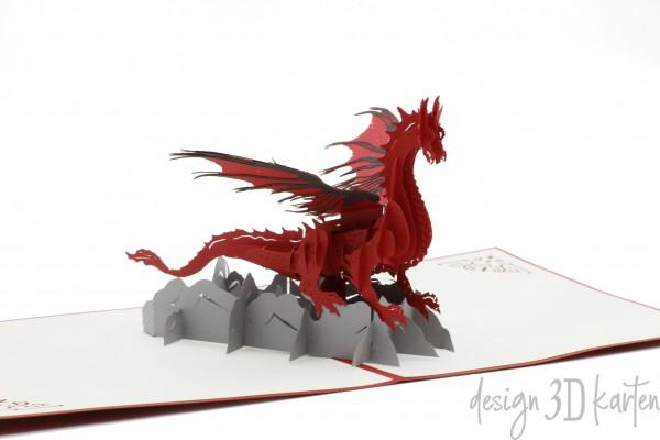 Drachen von design3dkarten