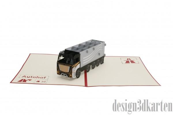 LKW von design3dkarten