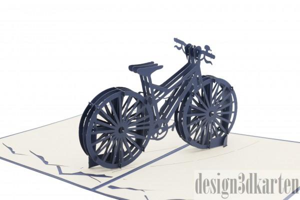 Fahrrad von design3dkarten