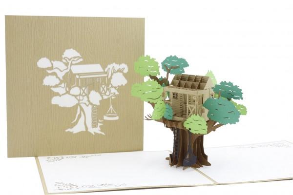 Baumhaus von design3dkarten