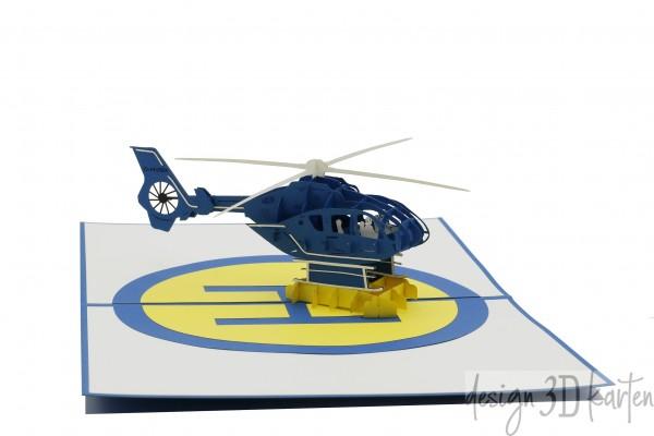 Hubschrauber von design3dkarten