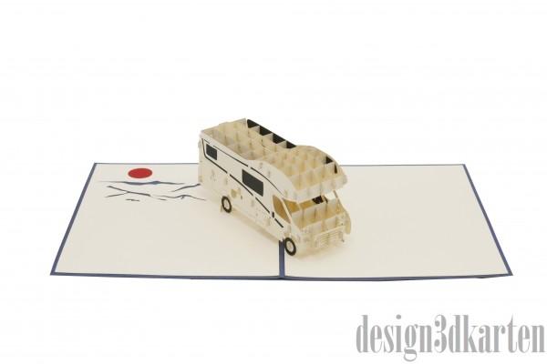 Wohnmobil von design3dkarten
