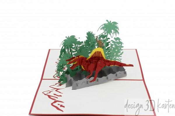 Dinosaurier von design3dkarten