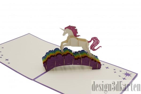 Einhorn von design3dkarten