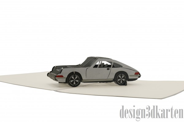 Sportauto, Porsche von design3dkarten