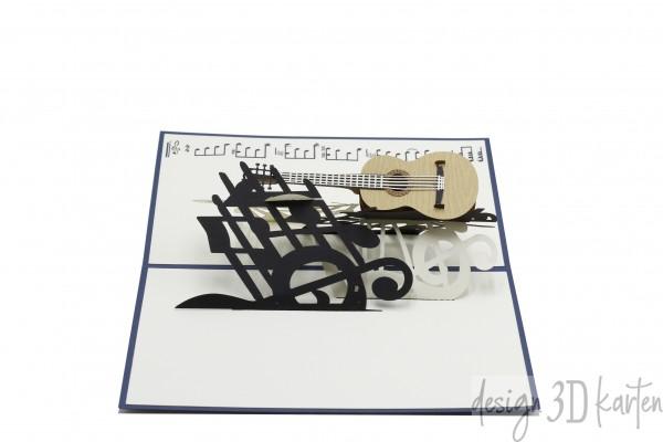 Gitarre von design3dkarten