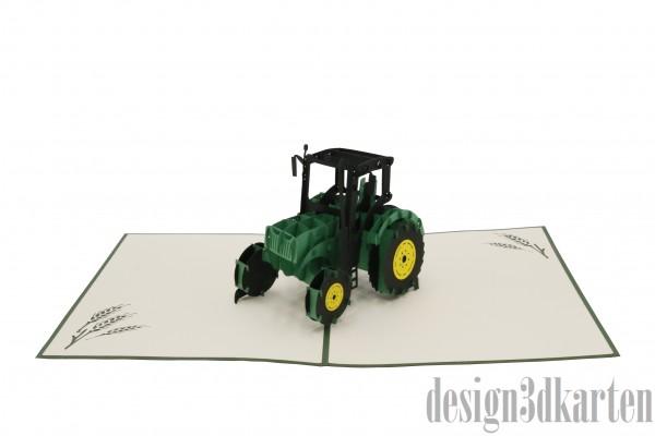 Traktor von design3dkarten