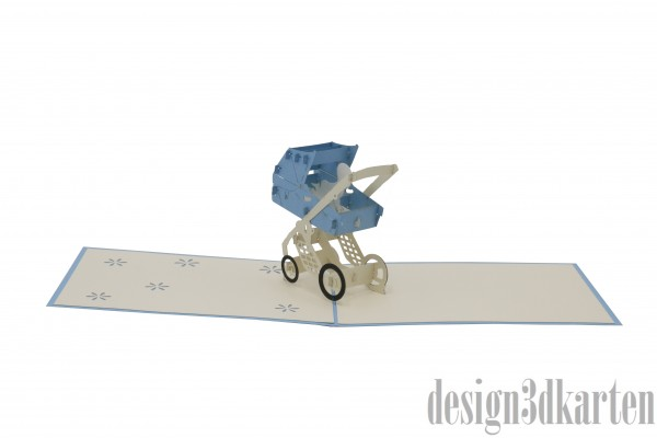 Kinderwagen von design3dkarten