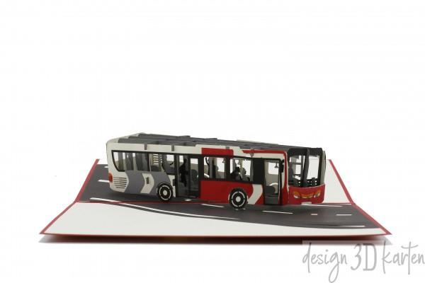 Bus von design3dkarten