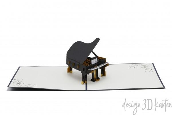 Klavier von design3dkarten
