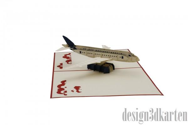 Airbus von design3dkarten