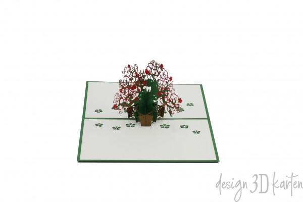Blumenbonsai von design3dkarten