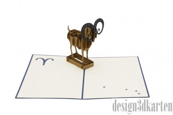 Widder von design3dkarten