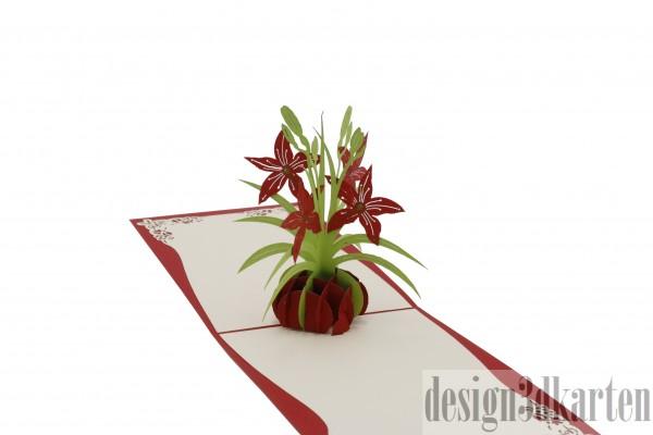 Lilienstrauß von design3dkarten