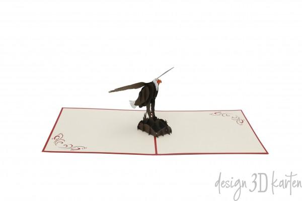 Adler von design3dkarten