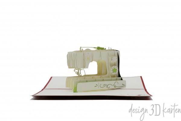 Nähmaschine von design3dkarten