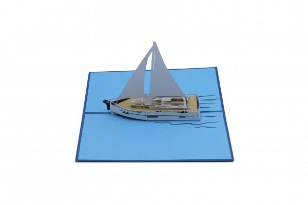 Segelboot von design3dkarten