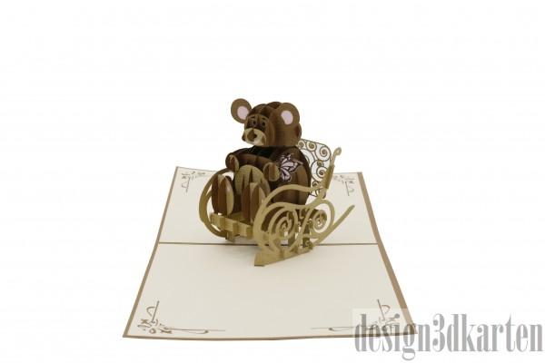 Teddy Bär von design3dkarten